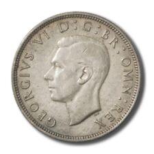 Great Britain King George VI Half Crown 1939 KM-856 Unc Details Cleaned