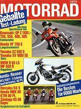 Motorrad 4/83 1983 Hercules RX9 BMW R65LS KTM 80 PL Malanca 125 Zündapp KS moto