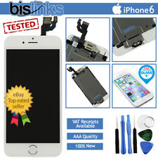 White iPhone 6 Screen Replacement LCD Digitizer Touch Home Button Camera Tools