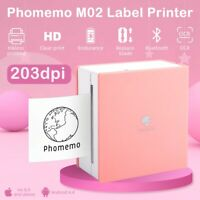 Portable Bluetooth PAPERANG Phomemo Mini Instant Thermal Printer Pocket Sticker