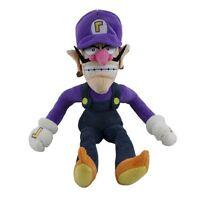 """Cute Super Mario Bros Plush 12"""" WALUIGI Toy Doll  Stuffed Gift Kids Animal Teddy"""