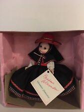 "Vintage Madam Alexander Doll Peru Girl #556 Original Box Highly Collectible 8"""