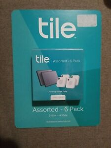 Tile Mate + Slim 6 Pack (2 Slim + 4 Mate) Alexa,Google Assistant Compatible. New