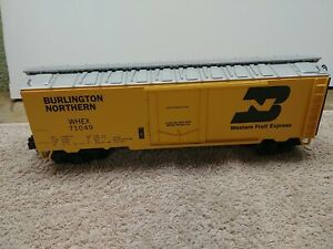 MTH ITEM NO. 20-9404L BN O SCALE REFRIGERATOR CAR