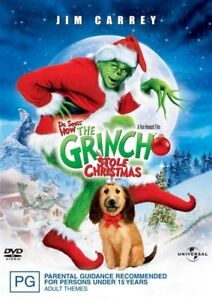 How THE GRINCH Stole CHRISTMAS DVD MOVIES Dr. Seuss 15th Anniversary  NEW
