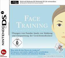 Face Training - Stärkung und Entspannung fürs Gesicht für Nintendo Dsi Neu/Ovp