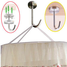 2X Strong Bed Canopy Hanger Mosquito Net Hook Play Tent Hook - No Mosquito Net