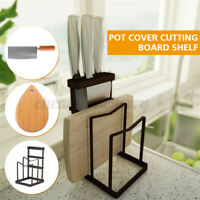Cutlery Cutting Chopping Board Cover Rack Holder Multifunction Kitchen Storage