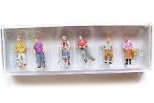 HO Preiser 10718 Elderly People / Seniors with Walkers / 1:87 scale Figures