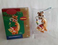GARFIELD Heirloom Christmas Ornament Carlton Cards#97 Visions Sugarplumz 2004