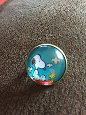 Stunning SNOOPY & WOODSTOCK Peanuts Cute Character Pin Badge Brooch Unique Style