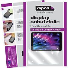 2x Medion Lifetab P10506 Schutzfolie Folie klar Displayschutzfolie MD 60036