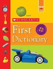 Scholastic First Dictionary by Judith Levey, Judith S. Levey
