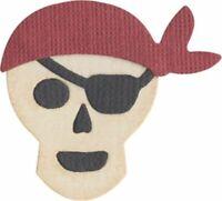 Pirate Skull Quickutz Thin Metal Die KS-0780 NEW!