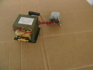 Mikrowellentrafo Hochspannungstrafo.Danger  MD-801EMR-1 + Kondensator.
