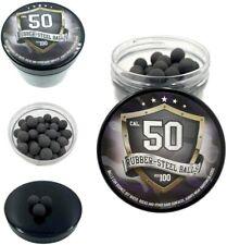 100x Premium Quality Hard Mix Rubber Steel Balls Paintballs Reballs Powerballs