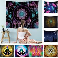 Indian Mandala Tapestry Wall Hanging Hippie Bedspread Blanket Home Dorm Decor