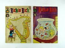 Richie Rich #25 & #51 September 1964 Harvey Comic Book Low Grade