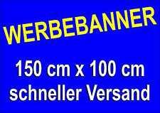 Werbebanner * 150 x 100 cm * geschnitten auf Format * inkl. Druck