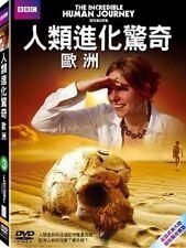 BBC: The incredible human journey - Europe TAIWAN DVD ENGLISH SEALED