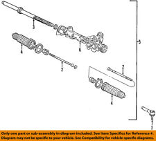 FORD OEM Steering Gear-Inner Tie Rod End 6L2Z3280A