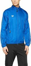 ARENA Men's Jacket, Full Zip Jacket, outdoor fitness, Royal Blue, XS