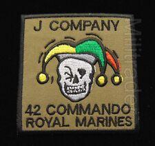 Britain British Royal Marines 42 Commando J Company Patch