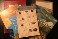 National Audubon Society Nature Program Boxed Set 4 Books + Rock Visual