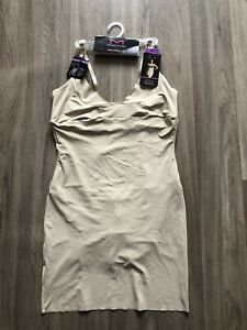 MAIDENFORM All- Over Solution Shape Wear Slip Size 2XL BNWT RRP$61 Beige