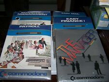 Six Commodore Office and Accounting Apps on 5.25 Disk