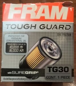 Fram Tough Guard Oil Filter TG30 New PL20049 51069 SDF25
