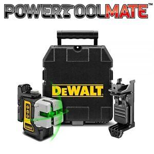 DeWalt DW089CG 3-Way Self-Levelling Cordless IP54 Multi Line Green Laser Level