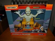MATCHBOX MUMMY'S TREASURE PLAYSET WITH ONE VEHICLE, NEW IN BOX, 2009