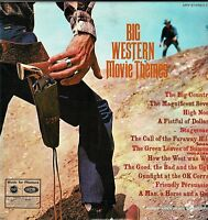 BIG WESTERN MOVIE THEMES Geoff Love and his Orchestra Vinyl 33 rpm LP MFP DA