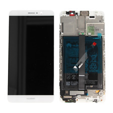 Lcd Vetro Display Schermo + BATTERIA ORIGINALE  Huawei Mate 9 MHA-L09  L2 BIANCO