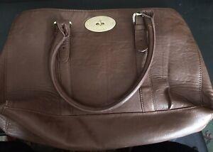 Large Ladies Handbag Brown