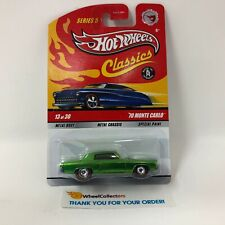 '70 Monte Carlo * Chase w/ Real Riders * Hot Wheels Classics * WD15