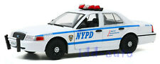 GREENLIGHT 2011 FORD CROWN VICTORIA INTERCEPTOR POLICE NYPD 1/24 DIECAST 85513