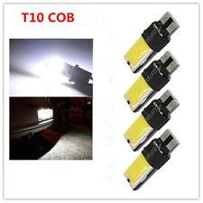 4PCS T10 W5W 194 168 LED COB Canbus Side Wedge Light White Parking Lamp Bulbs