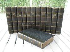 OEUVRES COMPLETES DE BUFFON PAR M. LE COMTE DE LACEPEDE 1817 12 VOL SET LEATHER