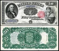 1880 UNC. $50.00 UNITED STATES BANKNOTE COPY NOTE PLEASE READ DESCRIPTION!