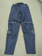 "FRANK THOMAS AQUA PORE BLACK OVER TROUSERS INC QUILTED LINING 28"" WAIST"