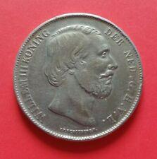NIEDERLANDE - NEDERLAND ° 2 1/2 Gulden 1863 ° KONING WILLEM III. ° SELTEN !