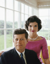 John F. Kennedy & Jackie Kennedy UNSIGNED photo - L4042 - In 1953 - NEW IMAGE