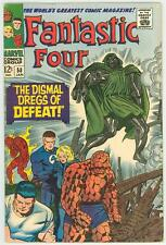 FANTASTIC FOUR 58 5.5 6.0 WHITE NICE PAGES GLOSSY COVER DR DOOM SILVER SURFER RC