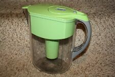 Brita Large Capacity Grand Water Filtration Pitcher, 10-Cup, Lime-Green