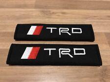 2X Seat Belt Pads Cotton Gift trd Sport Tuning Race Racing Motorsport Celica nos