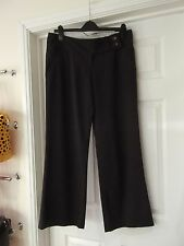 Size 12 Wide Leg Trousers by Atmosphere Pinstripe Grey/White/Red Smart/Office