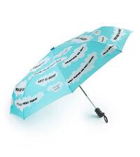 Girl Skateboards Crailtap Clouds Automatic Umbrella Blue
