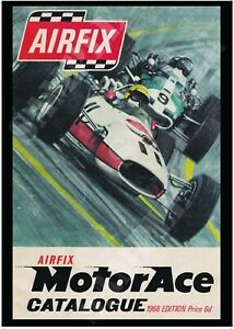 Reproduction Airfix Motor Ace 1968 Poster A4 A3 A2 Print Retro Vintage Catalogue
